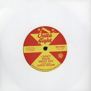 LLOYD NOLAN - I Don't Know About You - 7inch x 1