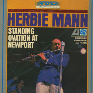 HERBIE MANN - Standing Ovation At Newport - LP