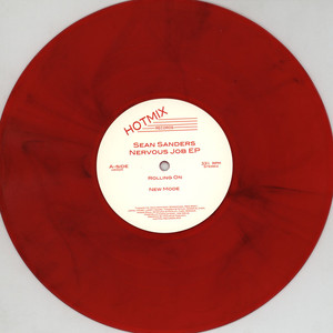 SEAN SANDERS (MOON B) - Nervous Job EP - 10 inch