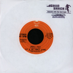 SLY & THE FAMILY STONE - Time For Livin' - 7inch x 1