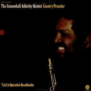 CANNONBALL ADDERLEY QUINTET, THE - Country Preacher - LP