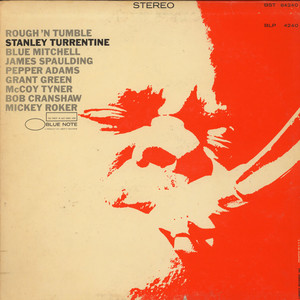 STANLEY TURRENTINE - Rough 'N Tumble - LP