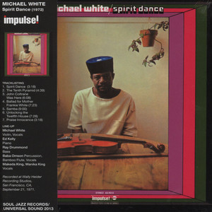 MICHAEL WHITE - Spirit Dance - CD