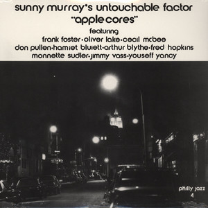 SUNNY MURRAY'S UNTOUCHABLE FACTOR - Applecores - LP