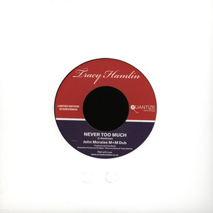 TRACY HAMLIN - Never Too Much - 7inch x 1