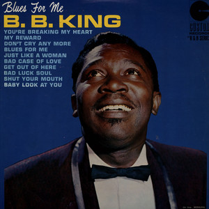 B. B. KING - Blues For Me - LP