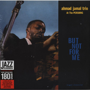 AHMAD JAMAL TRIO - At The Pershing - LP