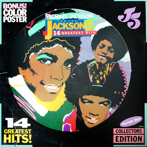 MICHAEL JACKSON AND JACKSON 5, THE - 14 Greatest Hits! - LP