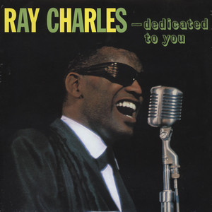 RAY CHARLES - Dedicated To You - LP