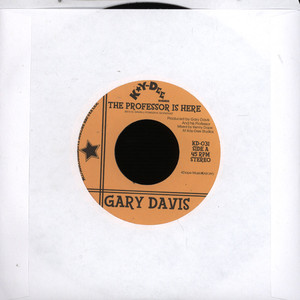 GARY DAVIS - The Professor Is Here / The Pop - 7inch x 1