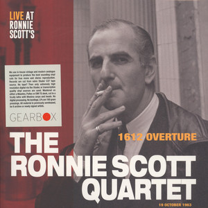 RONNIE SCOTT QUARTET, THE - 1612 Overture - 12 inch x 1