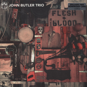 JOHN BUTLER TRIO - Flesh & Blood - LP x 2