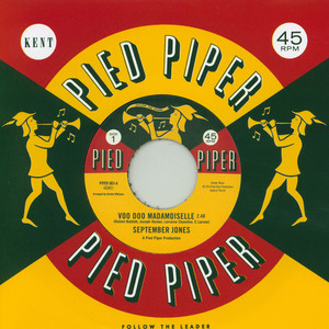SEPTEMBER JONES / FREDDY BUTLER - Voo Doo Mademoiselle / That's When I Need You - 7inch x 1
