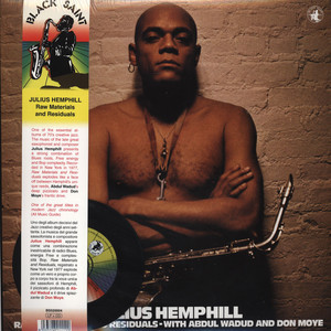 JULIUS HEMPHILL - Raw Materials And Residuals - LP + bonus