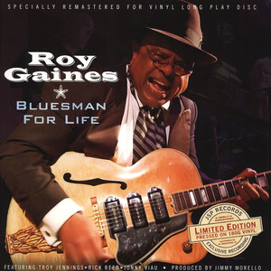 ROY GAINES - Bluesman For Life - LP