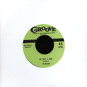 OTIS BLACKWELL / BIG RED MCHOUSTON - Oh What A Babe / I'm Tired - 7inch x 1