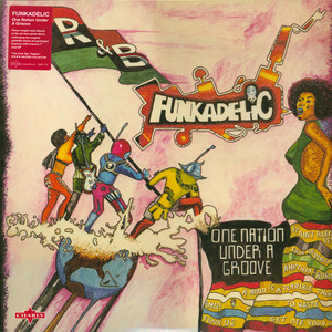 FUNKADELIC - One Nation Under A Groove - LP + 7inch