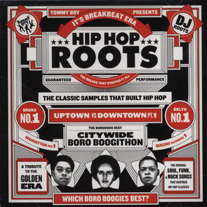 TOMMY BOY PRESENTS - Hip Hop Roots - The Classic Samples That Built Hip Hop - CD