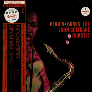 JOHN COLTRANE QUARTET, THE - Africa/Brass - LP
