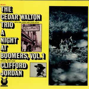 CEDAR WALTON TRIO - A Night At Boomers, Vol. 1 - LP