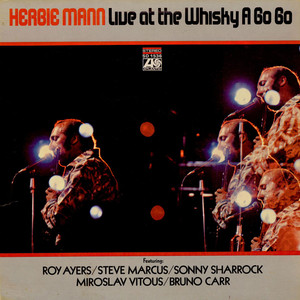 HERBIE MANN - Live At The Whisky A Go Go - LP
