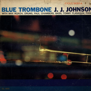 J.J. JOHNSON - Blue Trombone - LP