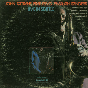 JOHN COLTRANE FEATURING PHAROAH SANDERS - Live In Seattle - LP x 2