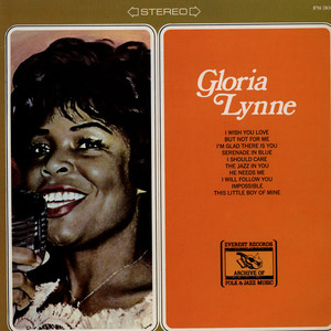 GLORIA LYNNE - Gloria Lynne (Including I Wish You Love) - LP
