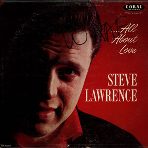 STEVE LAWRENCE - All About Love - LP