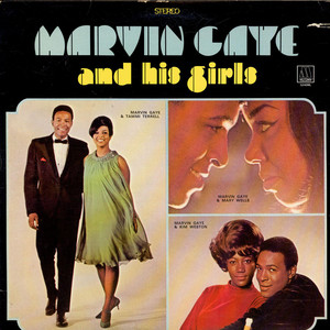 MARVIN GAYE - Marvin Gaye And His Girls - LP