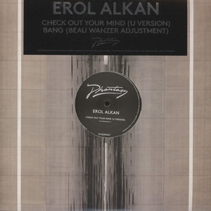 EROL ALKAN - Check Out Your Mind (Remixes) - 12 inch x 1