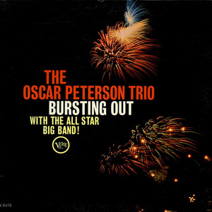 OSCAR PETERSON TRIO, THE - Bursting Out With The All-Star Big Band - LP