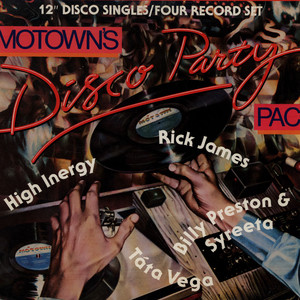 V.A. - Motown's Disco Party Pac - 12 inch x 4
