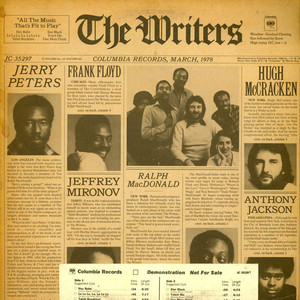 WRITERS, THE - The Writers - LP