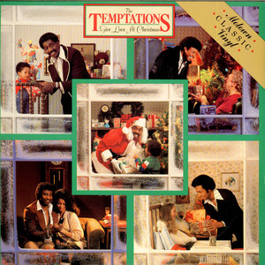 TEMPTATIONS, THE - Give Love At Christmas - LP