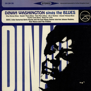 DINAH WASHINGTON - Dinah Washington Sings The Blues - LP