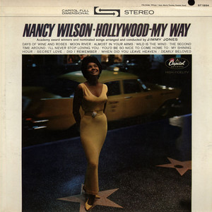 NANCY WILSON - Hollywood - My Way - LP