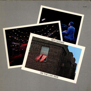 BEN SIDRAN - On The Live Side - LP