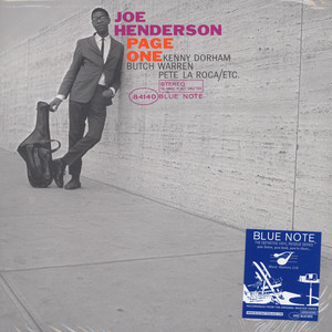 JOE HENDERSON - Page One - LP