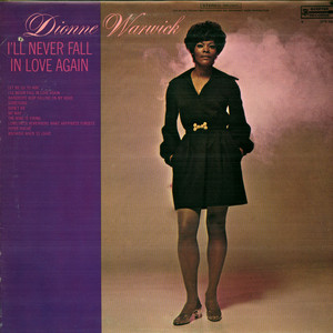 DIONNE WARWICK - I'll Never Fall In Love Again - LP