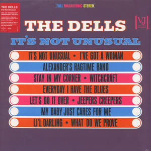 DELLS, THE - It's Not Unusual - LP