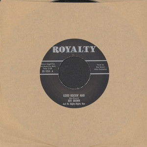 ROY BROWN - I'm A Rockin' Man / Everything's Alright - 7inch x 1