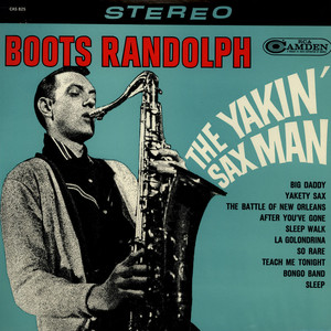 BOOTS RANDOLPH - The Yakin' Sax Man - LP
