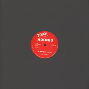 ADONIS - No Way Back - 12 inch x 1