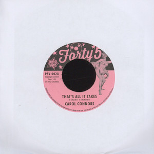 CAROL CONNORS - That's All It Takes - 7inch x 1