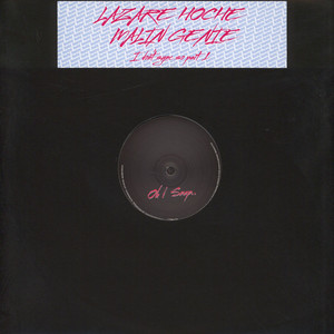 LAZARE HOCHE / MALIN GENIE - I Don't Sync So Part 1 - LP x 2