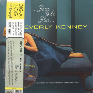 BEVERLY KENNEY - Born To Be Blue - LP + bonus
