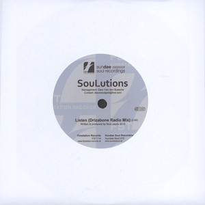 SOULUTIONS - Listen Drizabone Radio Remix / Philly Line - 7inch x 1