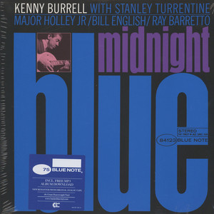 KENNY BURRELL - Midnight Blue Back To Black Edition - LP