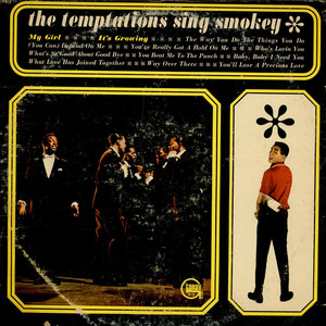 TEMPTATIONS, THE - The Temptations Sing Smokey - LP